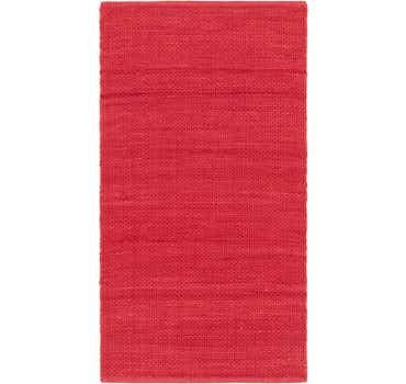 Image of 2' 8 x 5' Chindi Cotton Rug