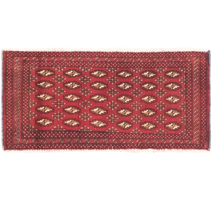 50cm x 110cm Torkaman Persian Rug