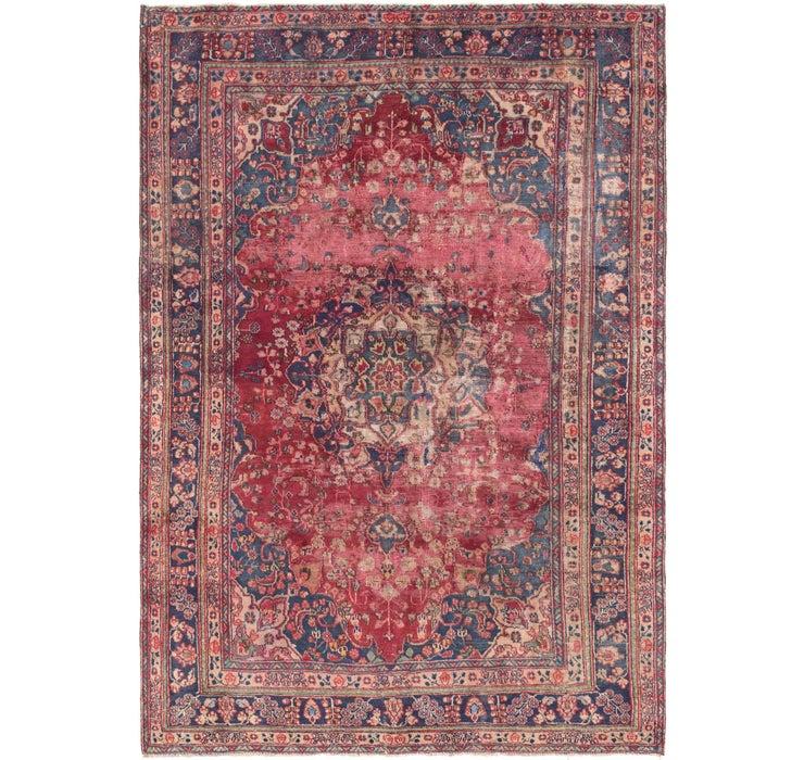 198cm x 287cm Tabriz Persian Rug