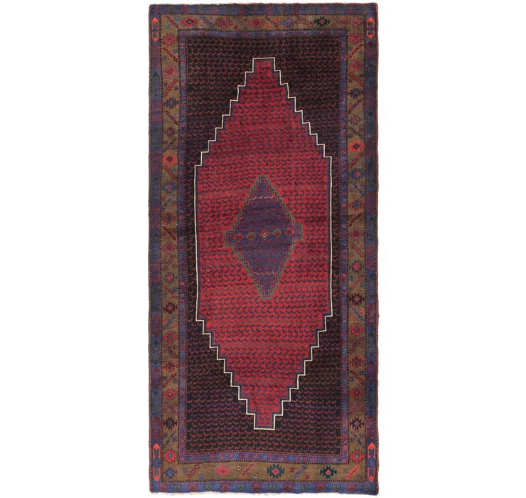 Image of 5' x 11' Sarab Persian Runner Rug