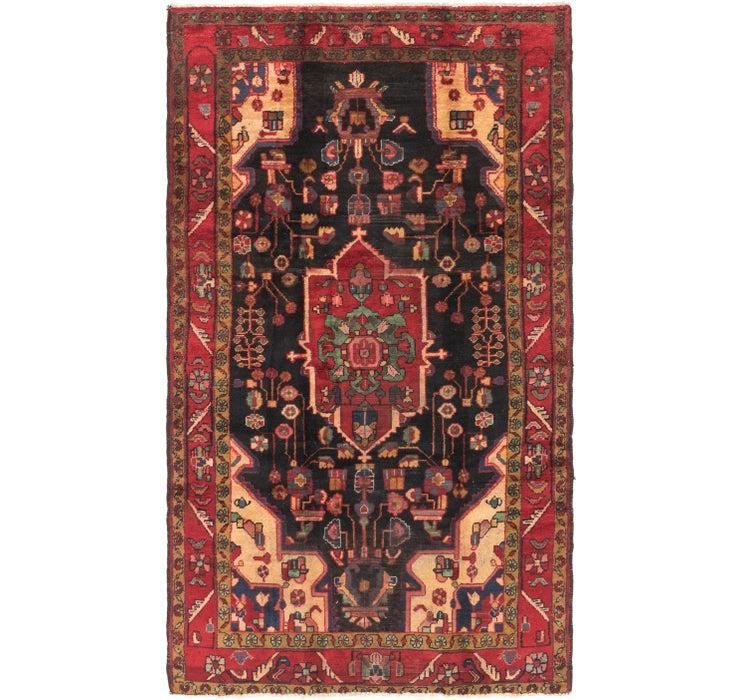 4' 9 x 8' Nahavand Persian Rug