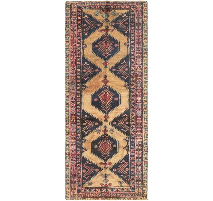 105cm x 275cm Gholtogh Persian Runner...