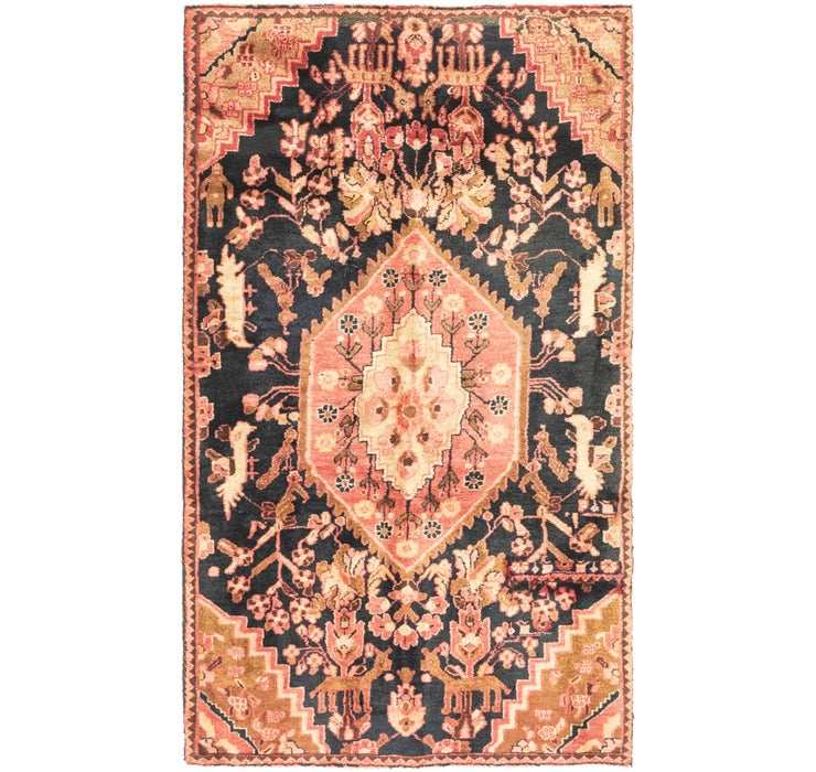 3' 9 x 6' 7 Gholtogh Persian Rug