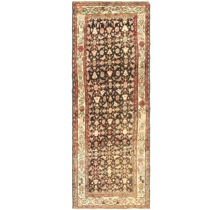 Image of 3' 5 x 10' Hossainabad Persian Run...