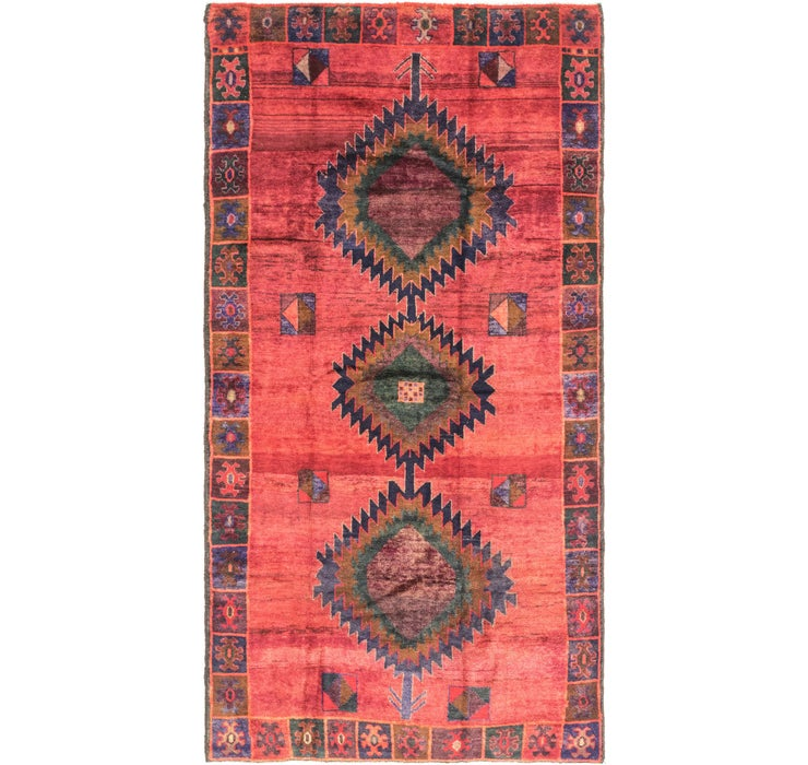 157cm x 300cm Shiraz Persian Runner Rug