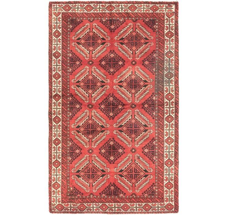 117cm x 190cm Balouch Persian Rug