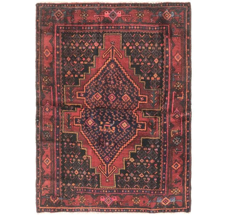 Image of 135cm x 175cm Senneh Persian Rug
