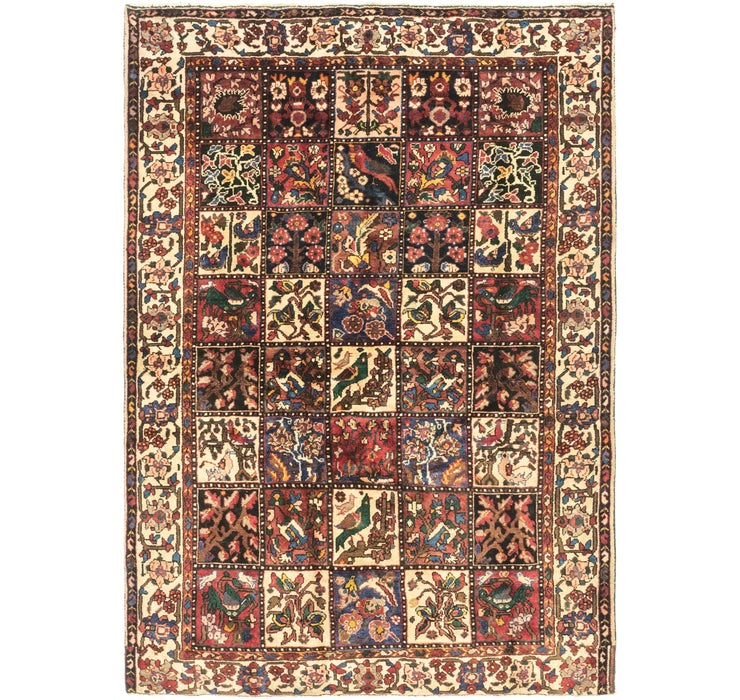 5' x 7' 2 Bakhtiar Persian Rug