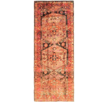 4' 7 x 12' 8 Shiraz Persian Runner Rug main image