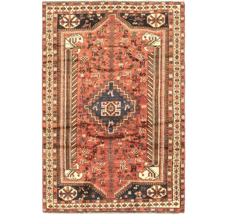 157cm x 240cm Ghashghaei Persian Rug