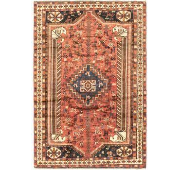 5' 2 x 7' 10 Ghashghaei Persian Rug