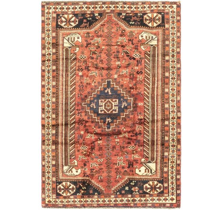 Image of 157cm x 240cm Ghashghaei Persian Rug