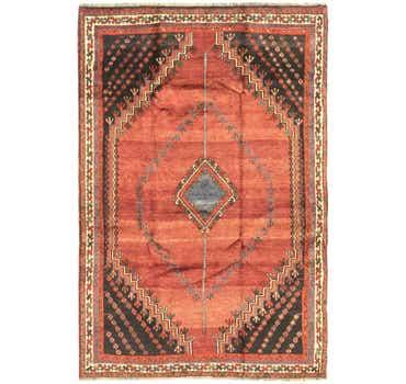 Image of 5' 3 x 8' Ghashghaei Persian Rug