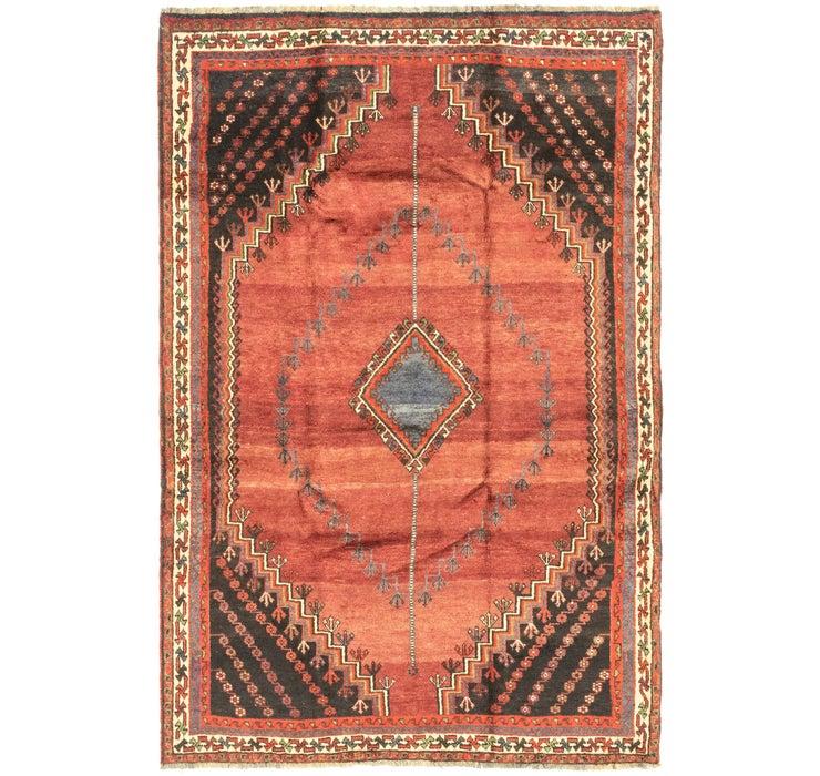 Image of 160cm x 245cm Ghashghaei Persian Rug