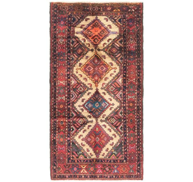 3' 8 x 7' 3 Chenar Persian Runner Rug