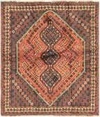 165cm x 190cm Ghashghaei Persian Rug thumbnail