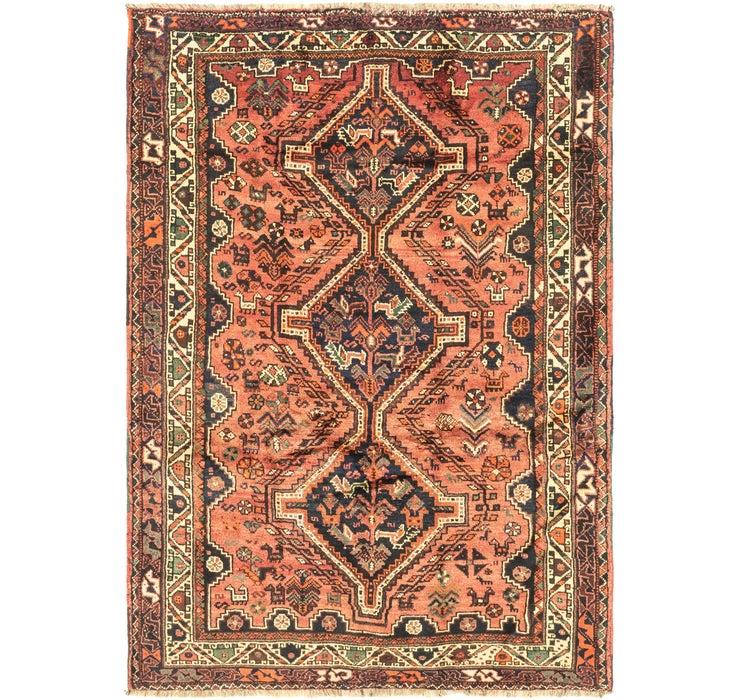 165cm x 230cm Ghashghaei Persian Rug