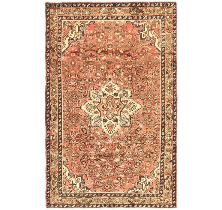 160cm x 267cm Hossainabad Persian Rug