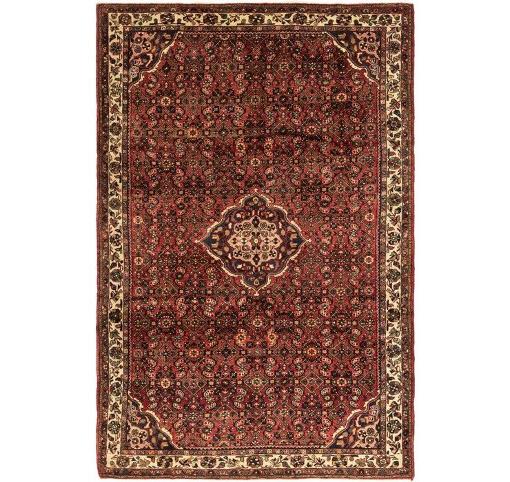 213cm x 315cm Hossainabad Persian Rug