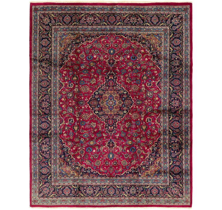9' 10 x 12' 8 Mashad Persian Rug