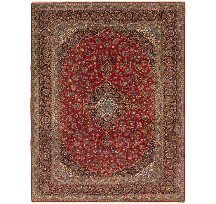 318cm x 435cm Kashan Persian Rug