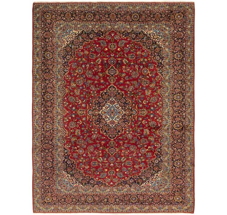 10' 5 x 14' 3 Kashan Persian Rug