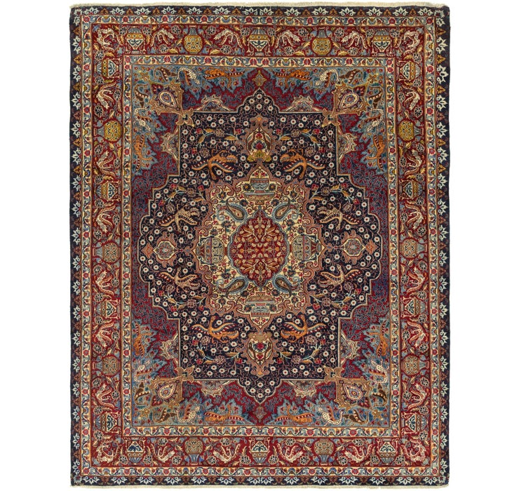 282cm x 370cm Kashmar Persian Rug