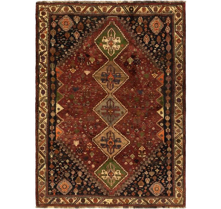 165cm x 235cm Ghashghaei Persian Rug
