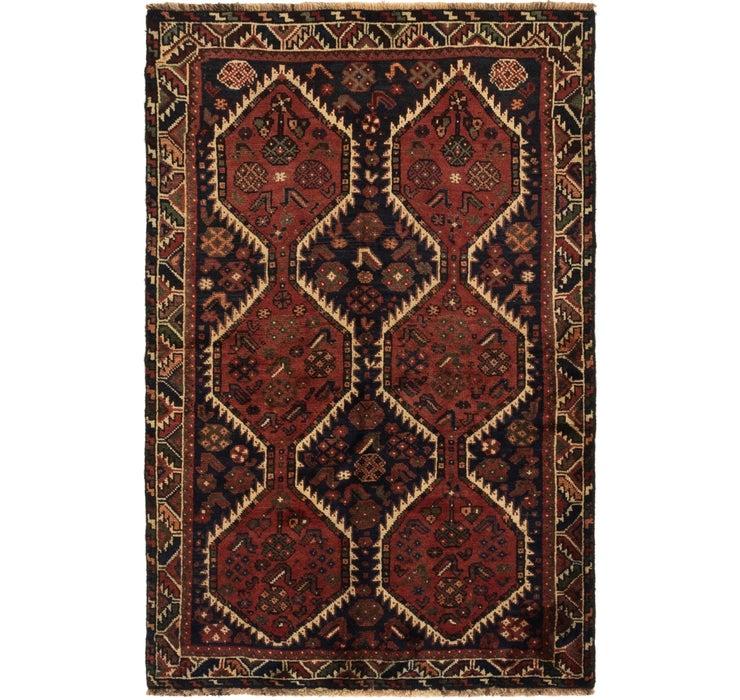 117cm x 178cm Ghashghaei Persian Rug