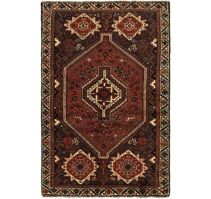 110cm x 170cm Ghashghaei Persian Rug