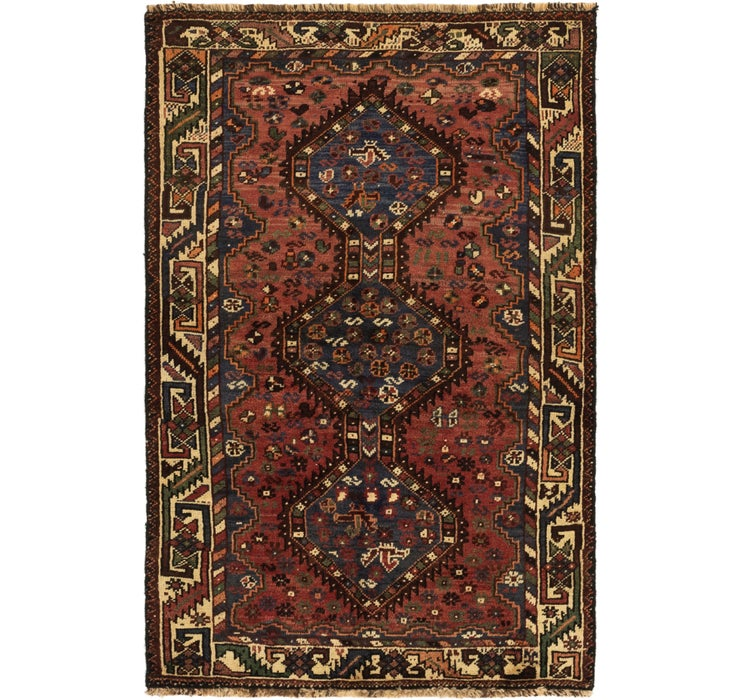 112cm x 175cm Ghashghaei Persian Rug