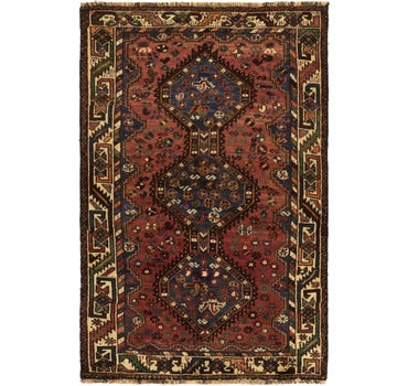3' 8 x 5' 9 Ghashghaei Persian Rug main image