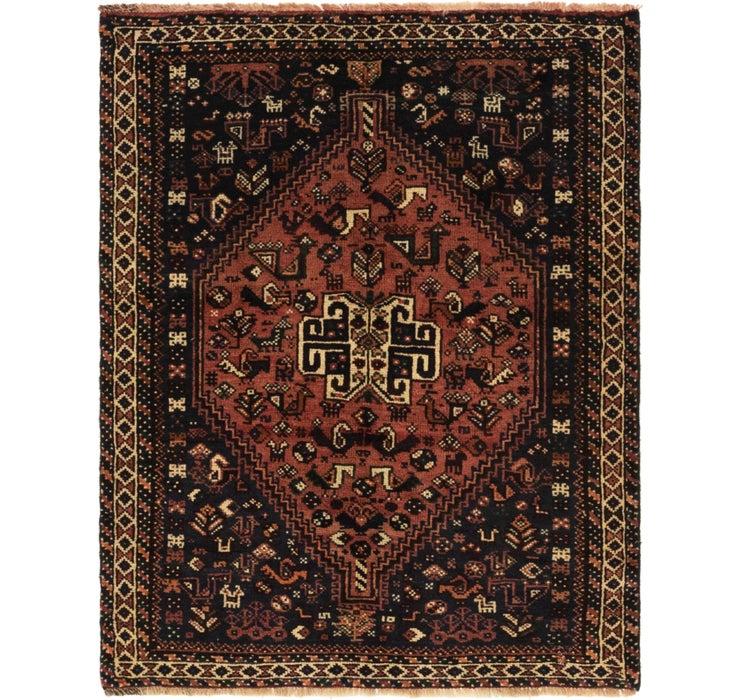 3' 8 x 4' 9 Ghashghaei Persian Rug