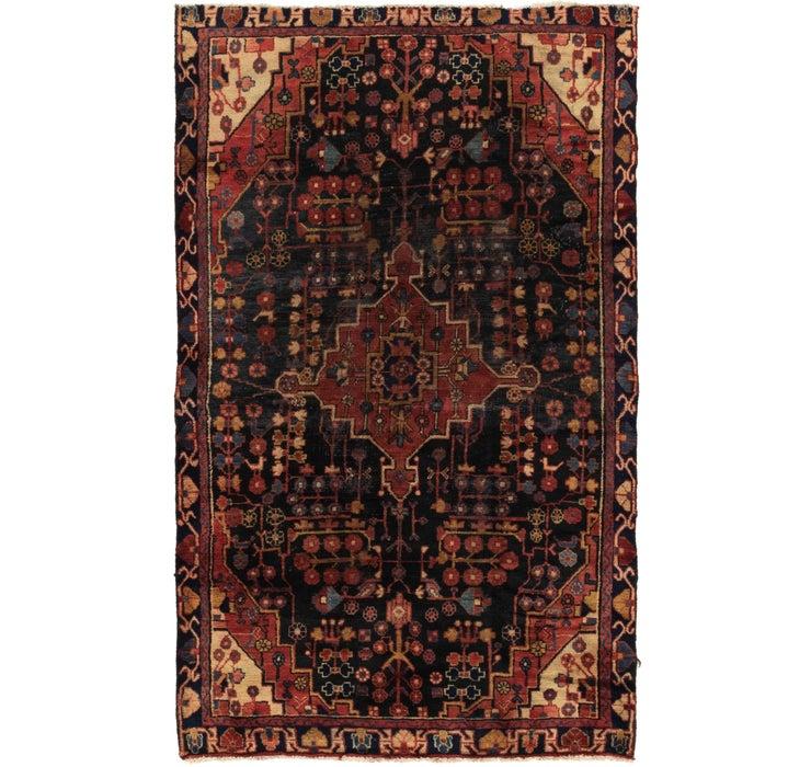 127cm x 205cm Nahavand Persian Rug