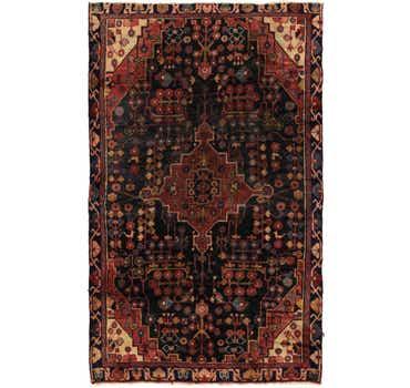 Image of 4' 2 x 6' 9 Nahavand Persian Rug