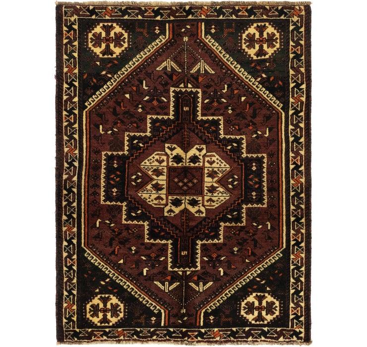 3' 9 x 5' Ghashghaei Persian Rug