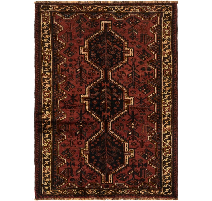 117cm x 168cm Ghashghaei Persian Rug