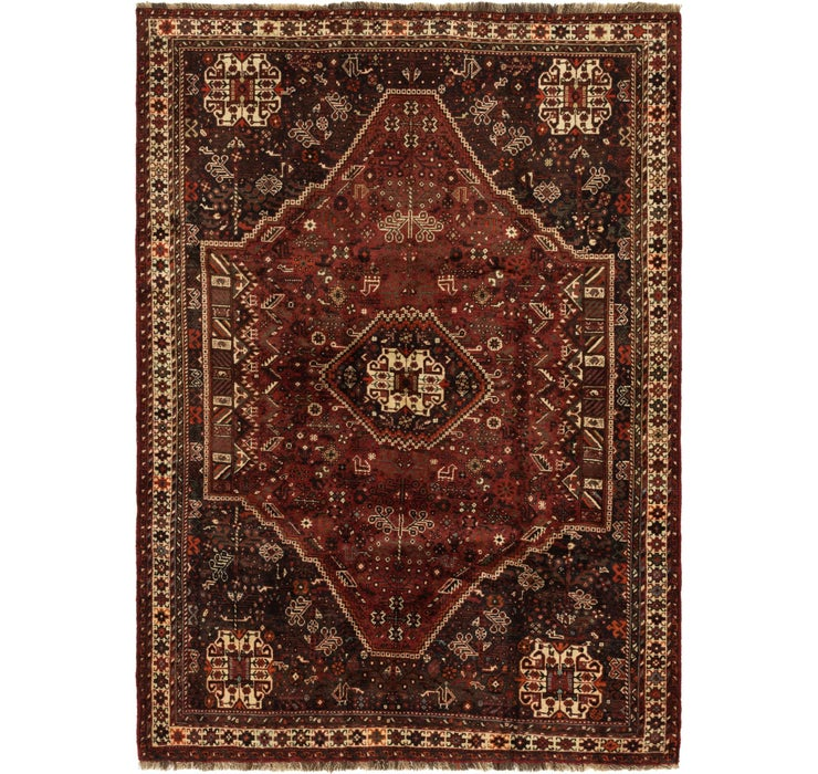 175cm x 245cm Ghashghaei Persian Rug