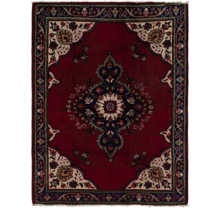 4' 10 x 6' 3 Tabriz Persian Rug