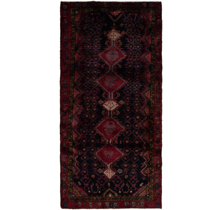 122cm x 275cm Gholtogh Persian Runner...