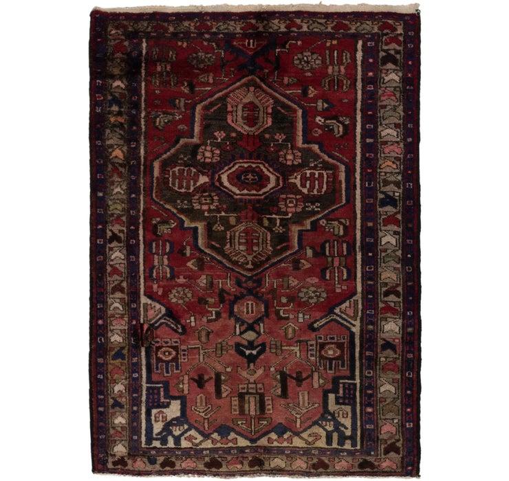 110cm x 165cm Khamseh Persian Rug