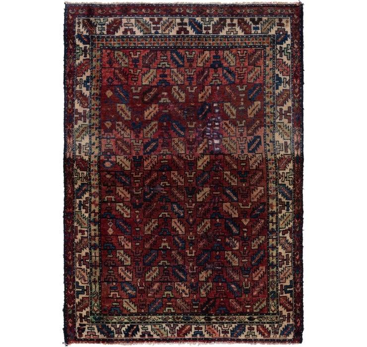 130cm x 188cm Hamedan Persian Rug