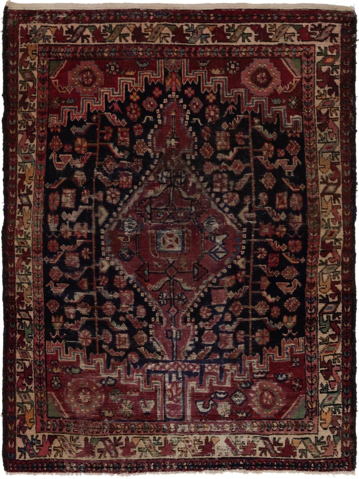 4' 6 x 6' 2 Tuiserkan Persian Rug main image