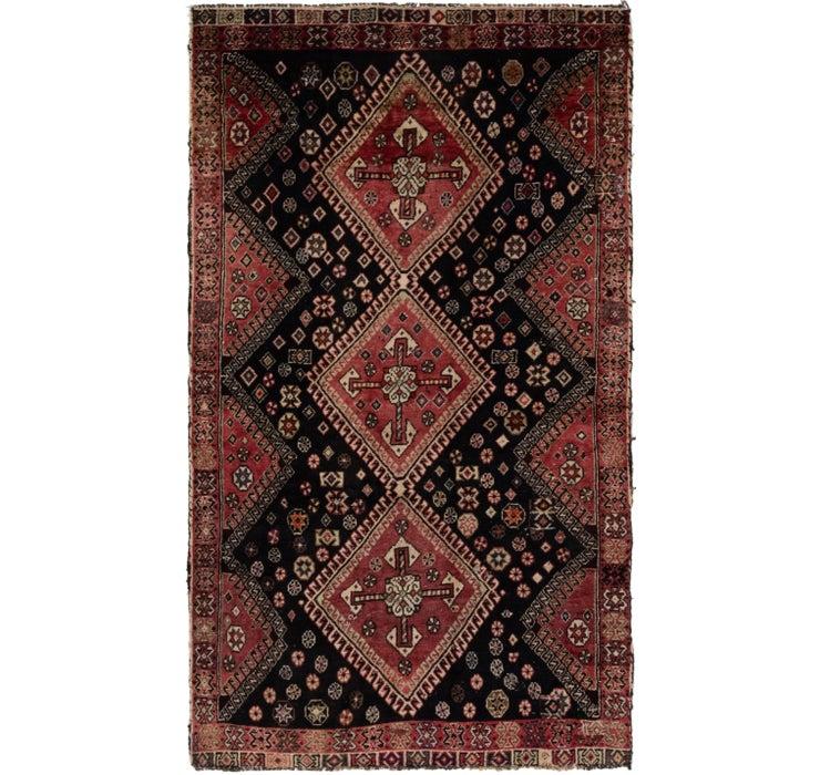 117cm x 213cm Ghashghaei Persian Rug
