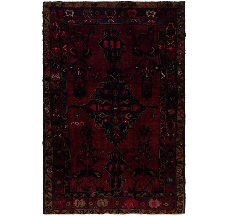 157cm x 235cm Zanjan Persian Rug