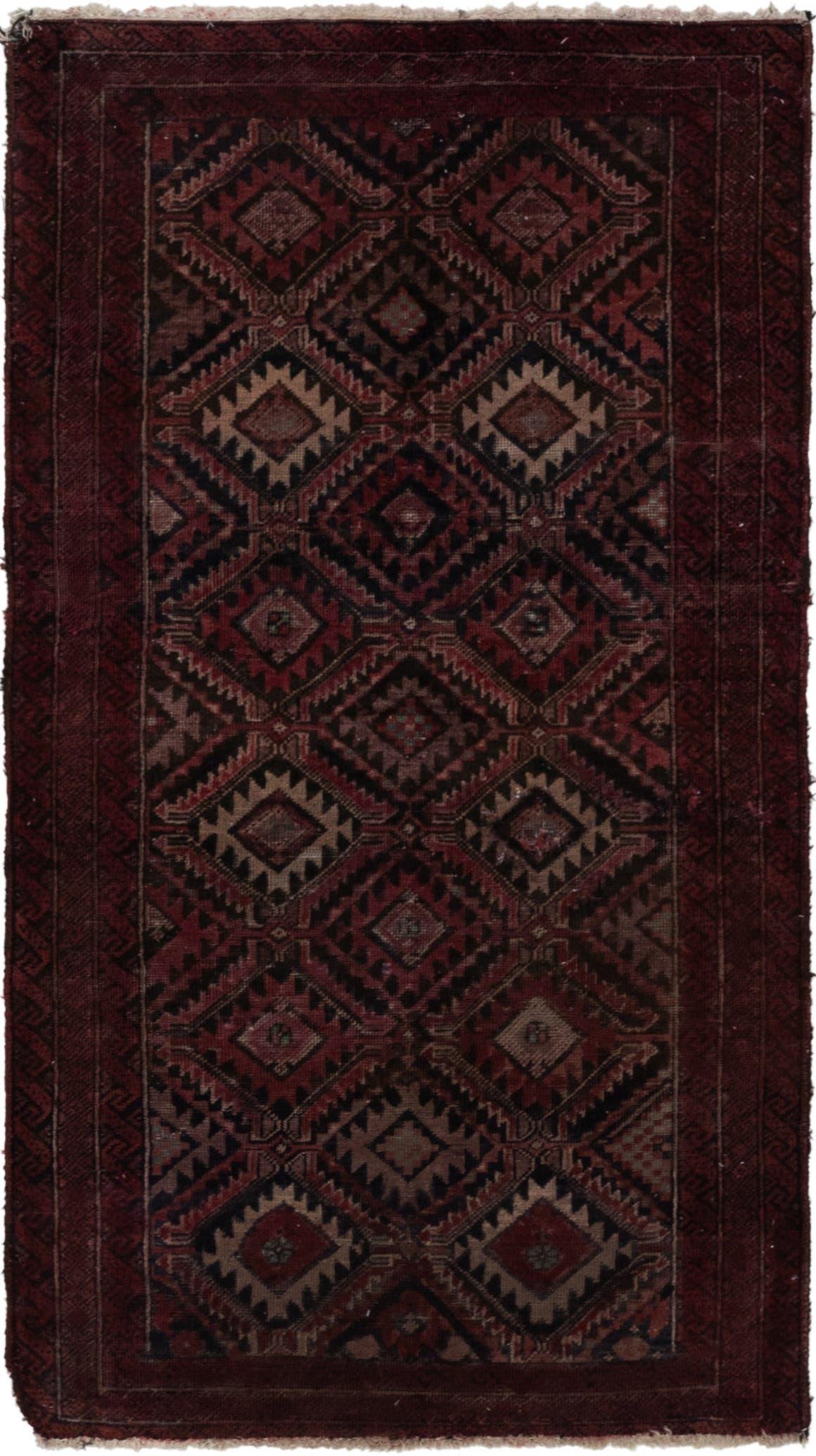 3' x 5' 8 Balouch Persian Rug main image