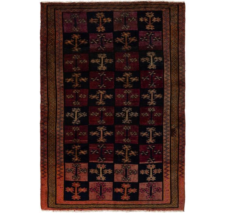 5' x 7' 3 Shiraz Persian Rug