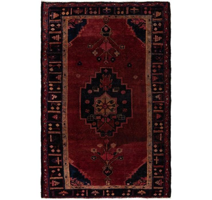 5' x 7' 5 Hamedan Persian Rug
