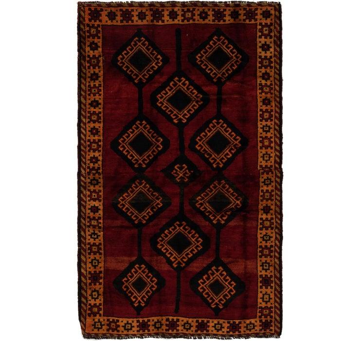 4' 2 x 7' 2 Shiraz Persian Rug