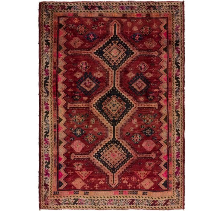 142cm x 200cm Hamedan Persian Rug